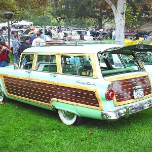 1956 Ford Country Squire 9 Pass.
