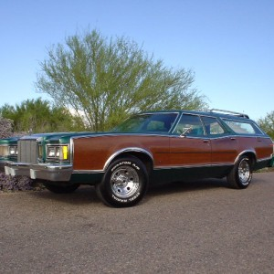 1977 Mercury Cougar Villager Wagon