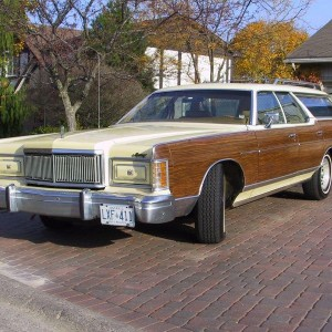 1977 Mercury Colony Park 49,000 Orig Miles