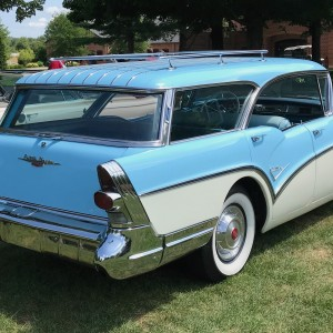 1957 Buick Caballero Estate Wagon Rr