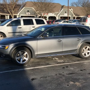 2015 Audi Allroad 17 Inch Winter Rims