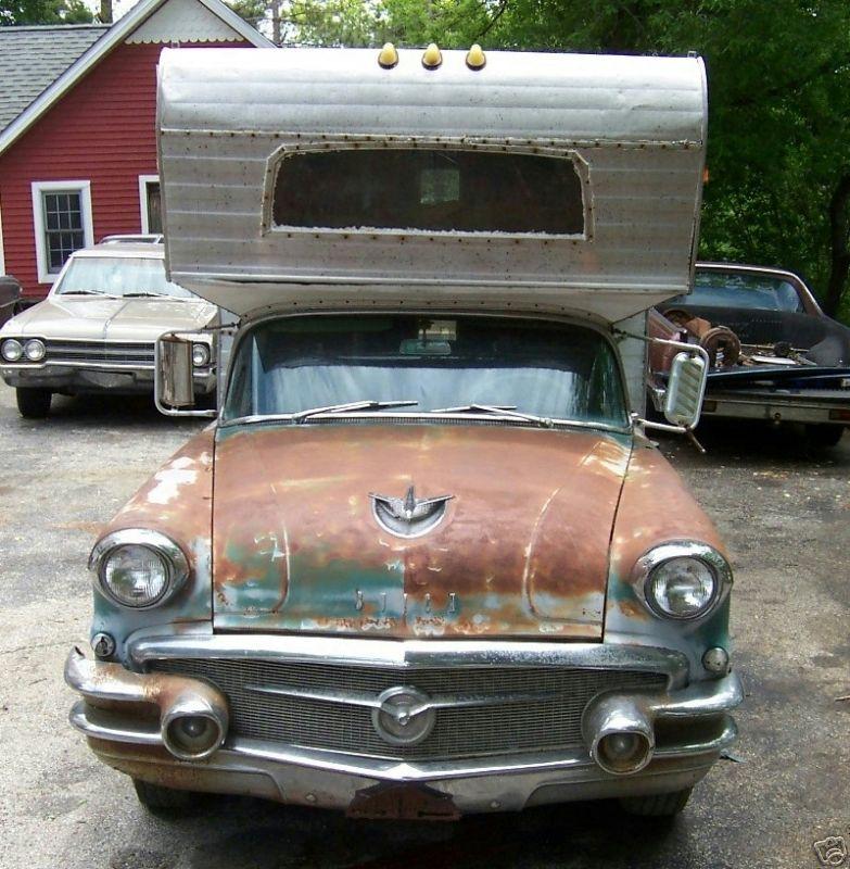 Buick Century Station Wagon For Sale: 1956 Buick Century Station Wagon Custom Camper