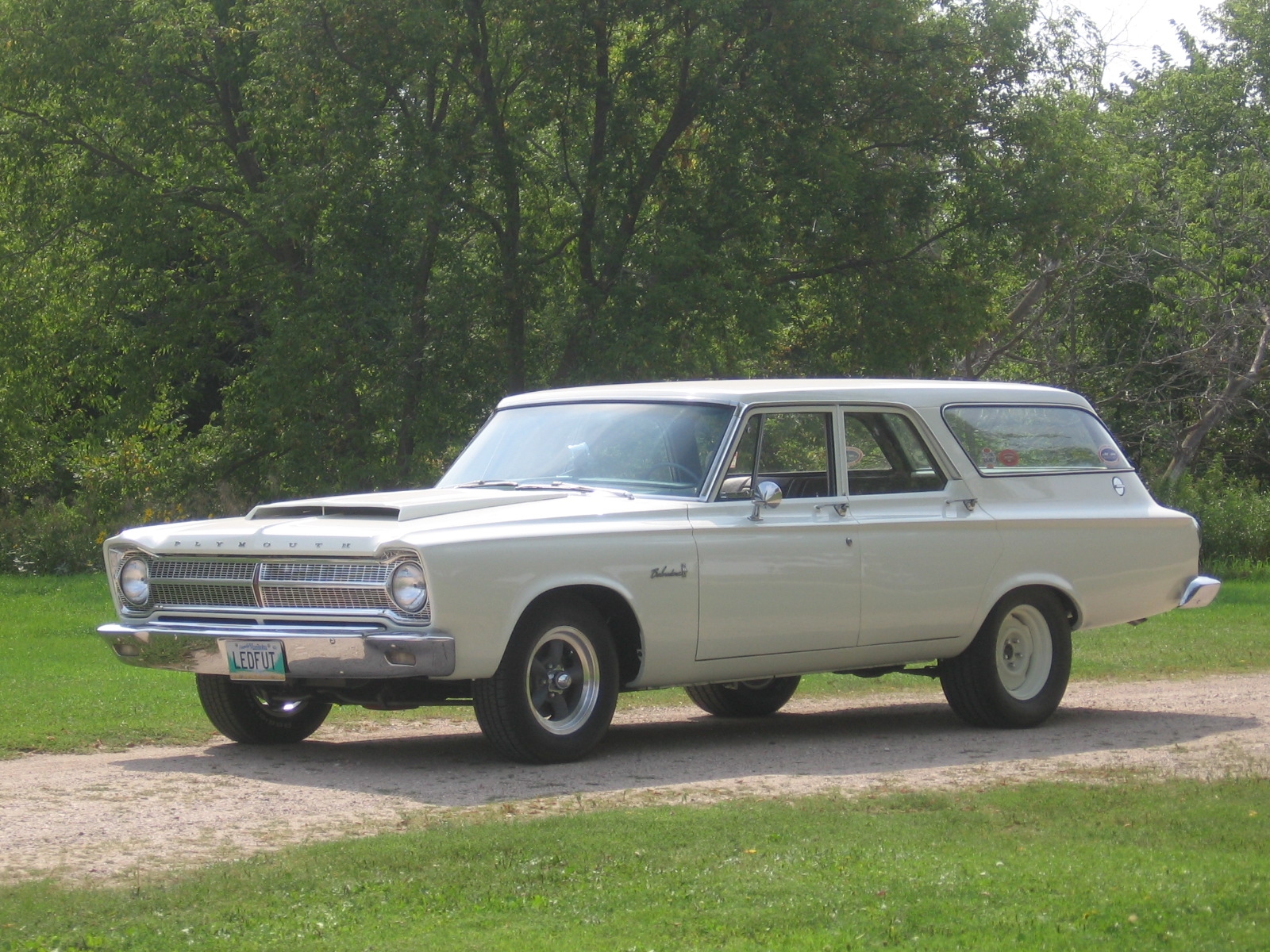 Station Wagon of the Day - 1965 Plymouth Belvedere I | Station ...