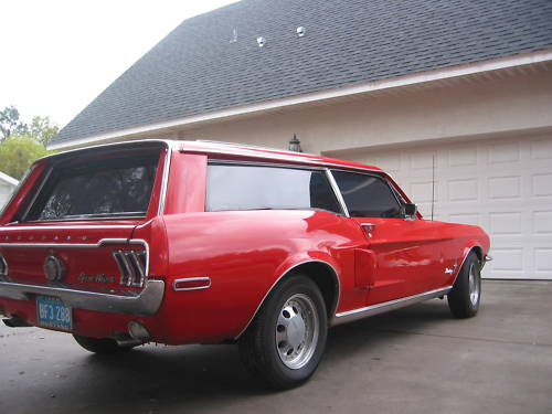 1968 Ford Mustang Station Wagon  Station Wagon Forums