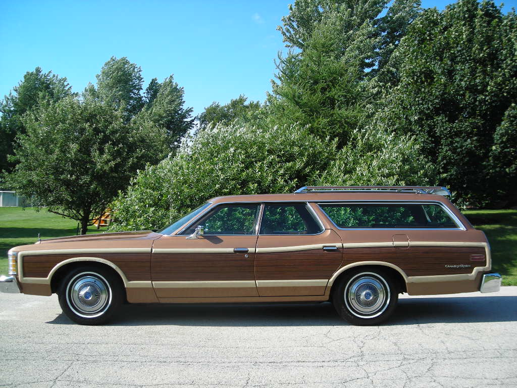 Station Wagon of the Day - 1973 Ford Country Squire Station Wagon ...