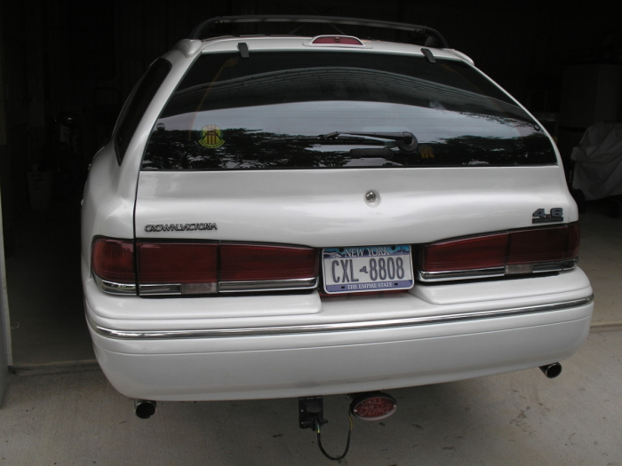 Full D on 2011 Ford Crown Victoria