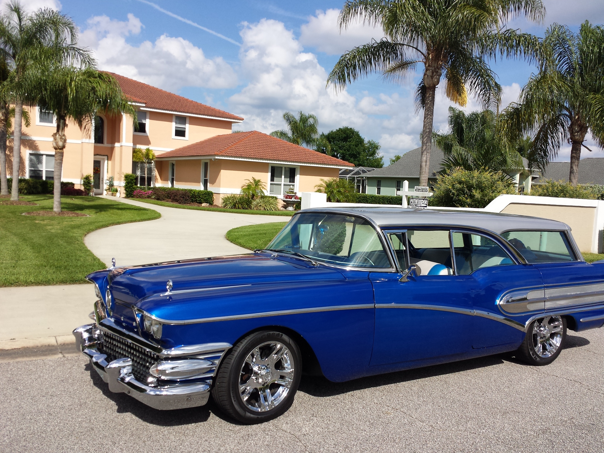 Custom 1958 Buick Century Caballero Estate Wagon